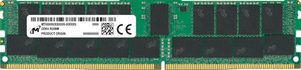 Server Memory Module|MICRON|DDR4|32GB|RDIMM/ECC|2933 MHz|CL 21|1.2 V|Chip Organization 4096Mx72|MTA36ASF4G72PZ-2G9J3