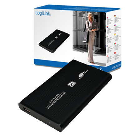 "Logilink 2.5"" SATA USB 2.0 HDD Enclosure 2.5"", SATA, USB 2.0"
