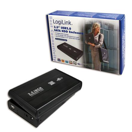 """Logilink 3.5"""" SATA Enclosure 3.5"""", SATA, USB 2.0"""