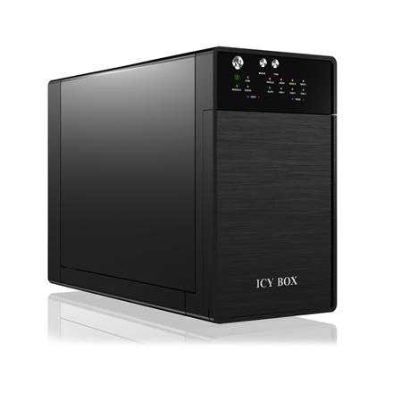 "Raidsonic ICY BOX External 2x JBOD system with USB 3.0 for 3.5"" SATA I / II / III hard disks 3.5"", SATA, USB 3.0"