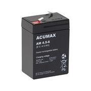 BATTERY 6V 4.5AH VRLA/AM4.5-6 ACUMAX EMU