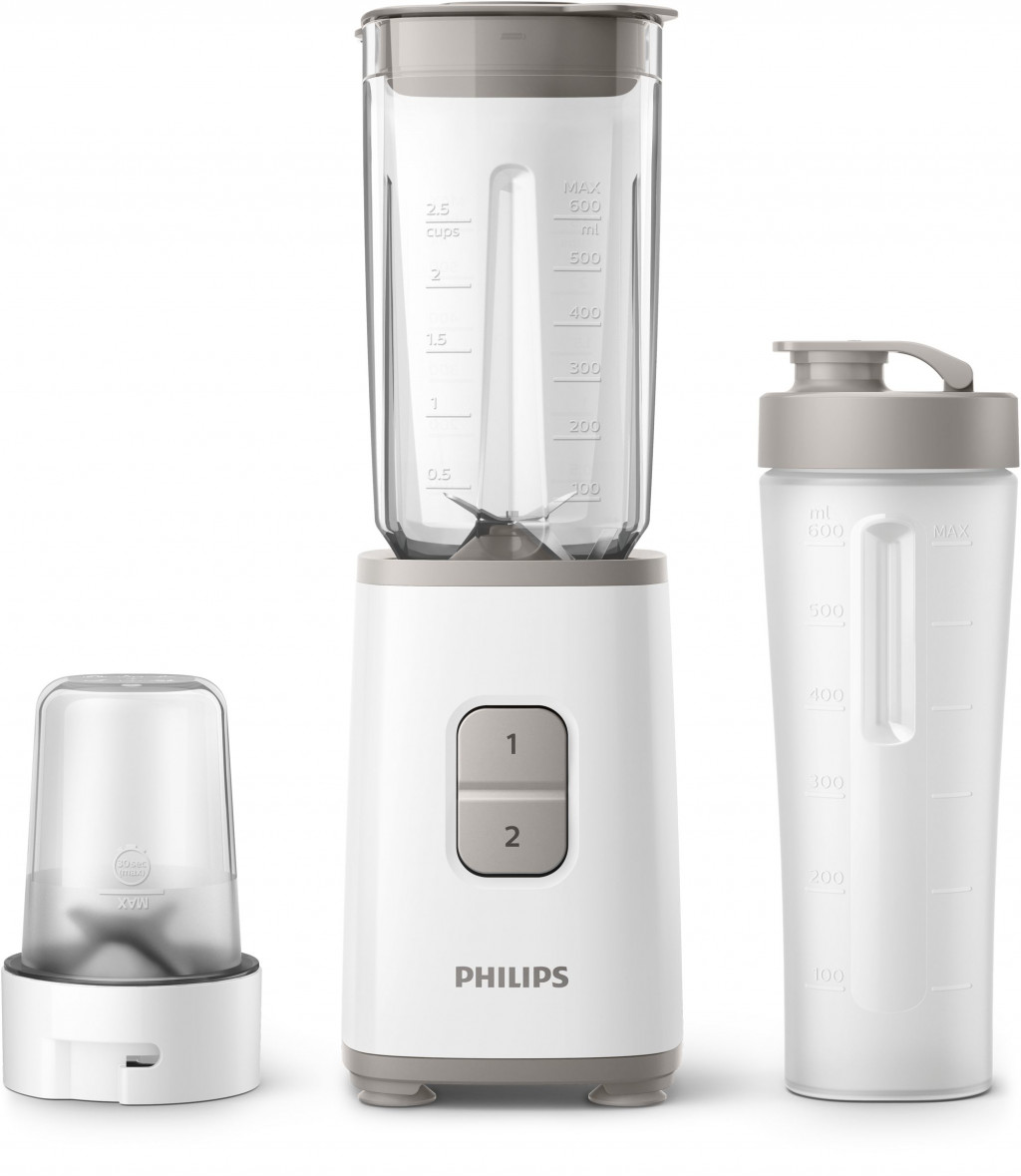 Philips Daily Collection HR2603/00 kannmikser 1 l Lauapealne blender 350 W Valge