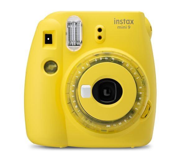 Camera Instax Mini 9 yellow