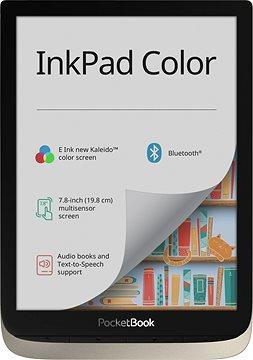 "E-Reader|POCKETBOOK|InkPad Color|7.8""|1872x1404|Micro SD|Silver|PB741-N-WW"