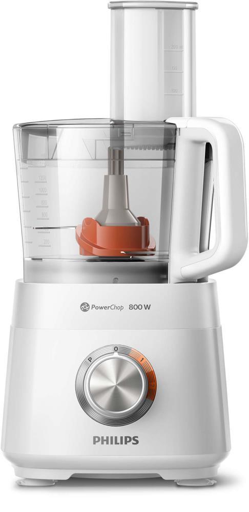 Philips Viva Collection HR7510/00 köögikombain 800 W 2,1 l Valge