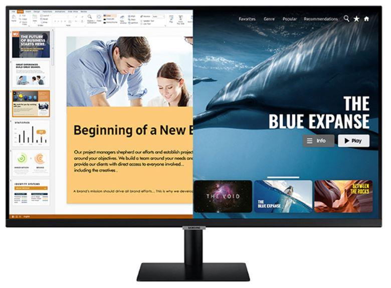 "Samsung S32AM700UR 81,3 cm (32"") 3840 x 2160 pikslit 4K Ultra HD LED Must"