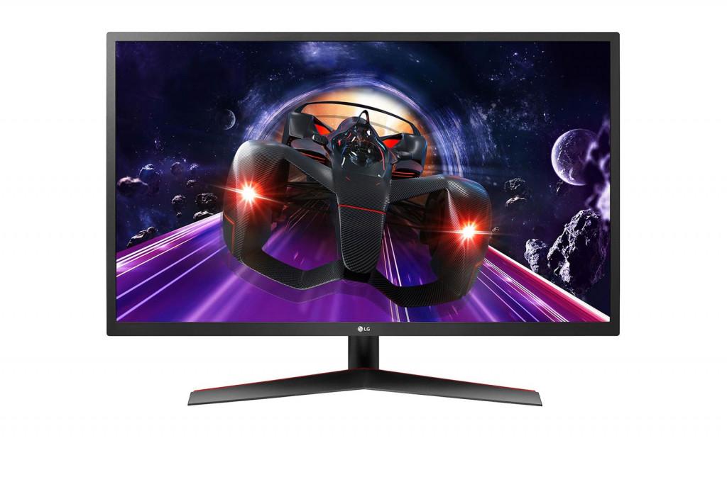 """LG 32MP60G-B PC lamekuvar 80 cm (31.5"""") 1920 x 1080 pikslit Full HD LED Must, Punane"""
