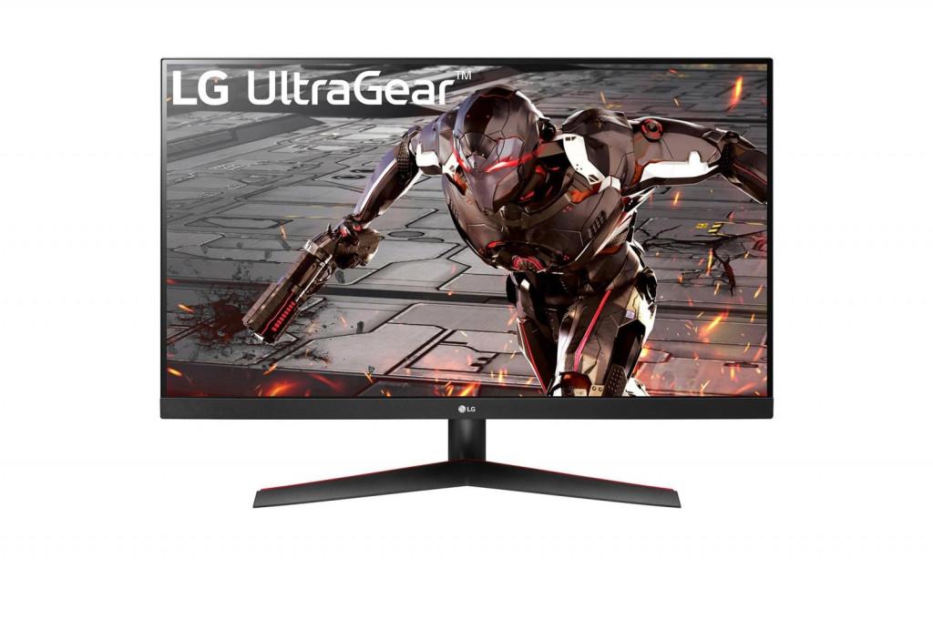"LG 32GN600-B PC lamekuvar 80 cm (31.5"") 2560 x 1440 pikslit 2K Ultra HD Must, Punane"