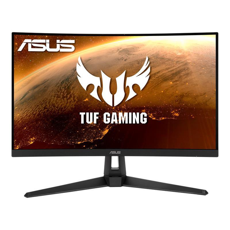 "ASUS TUF Gaming VG27WQ1B 68,6 cm (27"") 2560 x 1440 pikslit Quad HD Must"