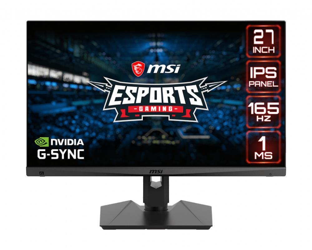 "MSI Optix MAG274R2 68,6 cm (27"") 1920 x 1080 pikslit Full HD LED Must"