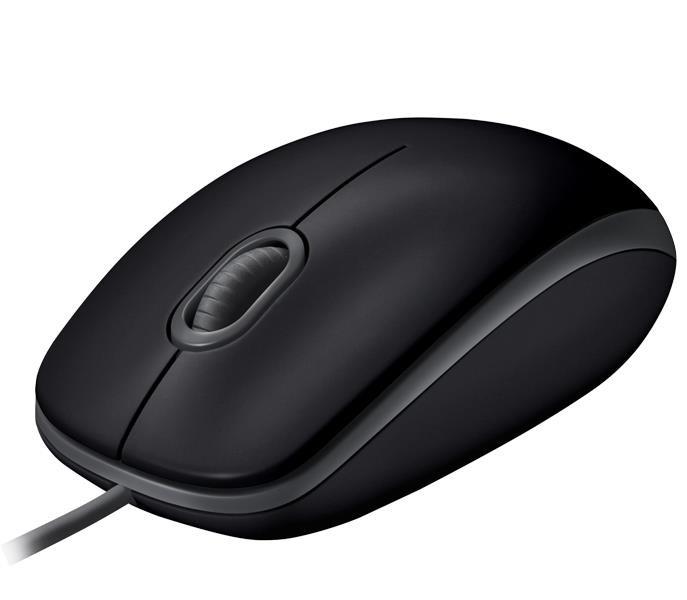 Logitech B110 Silent hiir Mõlemakäeline USB tüüp A Optiline 1000 DPI