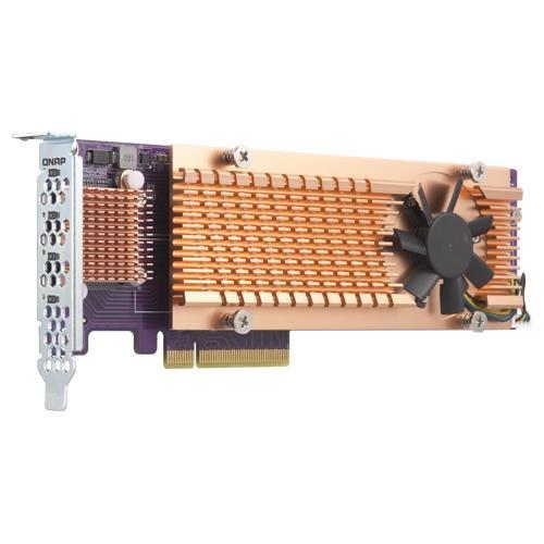 QNAP QM2-4P-384 liidesekaart/adapter Sisemine PCIe