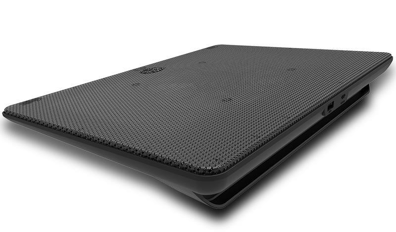 "Cooler Master NotePal L2 jahutusalus sülearvutile 43,2 cm (17"") 1400 RPM Must"