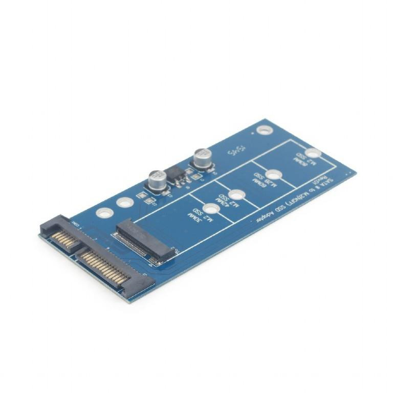 PC ACC M.2 SSD ADAPTER SATA/TO M.2 EE18-M2S3PCB-01 GEMBIRD