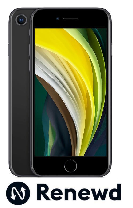 MOBILE PHONE IPHONE SE 2020/BLACK RND-P171128 APPLE RENEWD