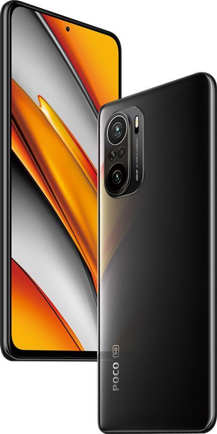 MOBILE PHONE POCO F3/256GB BLACK MZB08RFEU XIAOMI
