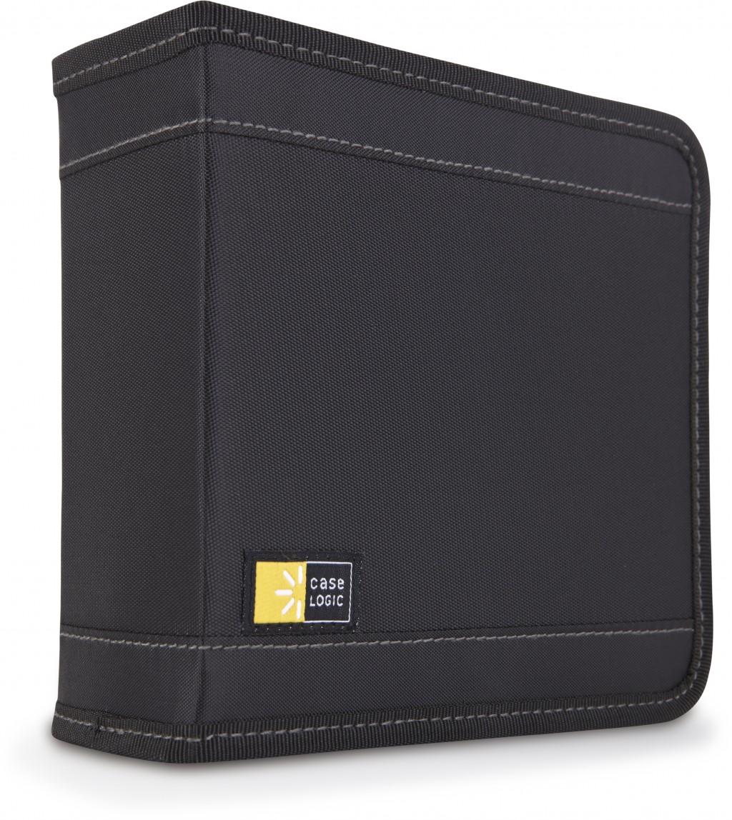 Case Logic CD Wallet Nylon, 32 discs, Black