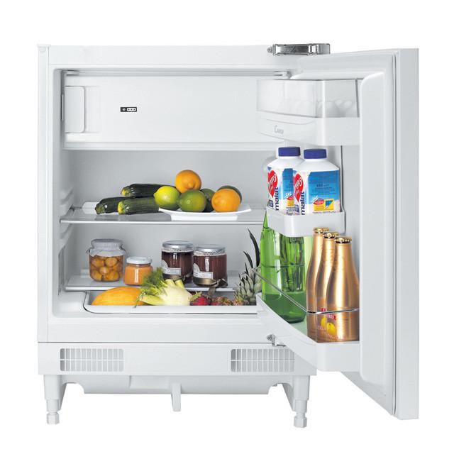 Candy Refrigerator CRU 164 NE/N Energy efficiency class F, Built-in, Larder, Height 82 cm, Fridge net capacity 100 L, Freezer net capacity 17 L, 43 dB, White