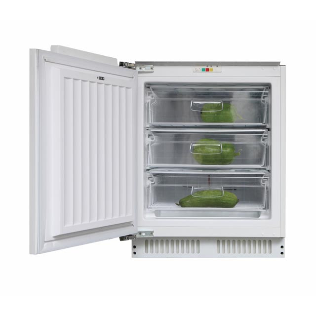 Candy Freezer CFU 135 NE/N Energy efficiency class F, Upright, Built-in, Height 82.6 cm, Total net capacity 95 L, White