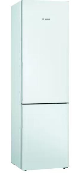 Bosch Refrigerator KGV39VWEA Energy efficiency class E, Free standing, Combi, Height 201 cm, Fridge net capacity 249 L, Freezer net capacity 94 L, 39 dB, White