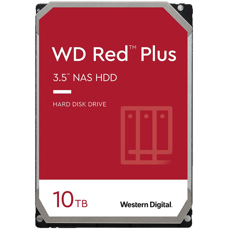 HDD NAS WD Red Plus (3.5'', 10TB, 256MB, 7200 RPM, SATA 6 Gb/s)