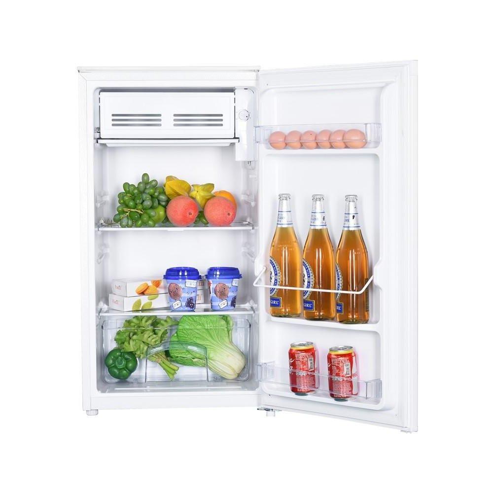 Goddess Refrigerator GODRSD084GW8SSF Energy efficiency class F, Free standing, Larder, Height 85 cm, Total net capacity 93 L, White