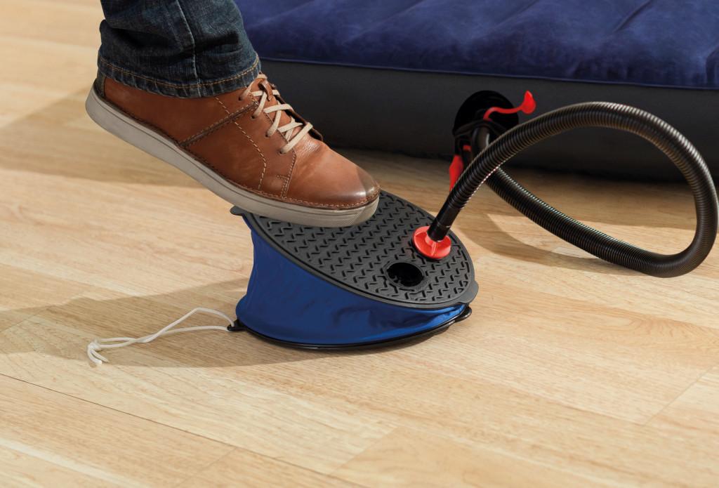 Intex Bellows Foot Pump Black/Blue