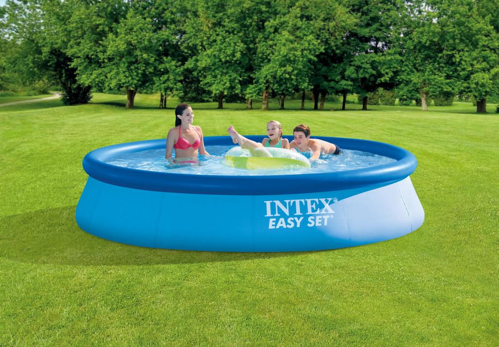 Intex Easy Set Pool  Blue, 396x84 cm, Age 6+