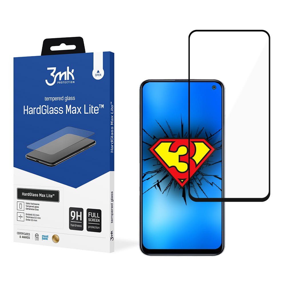 3MK Samsung Galaxy F52 5G Glass Highest scratch resistance 9H; High strength; Perfect color reproduction; Easy assembly