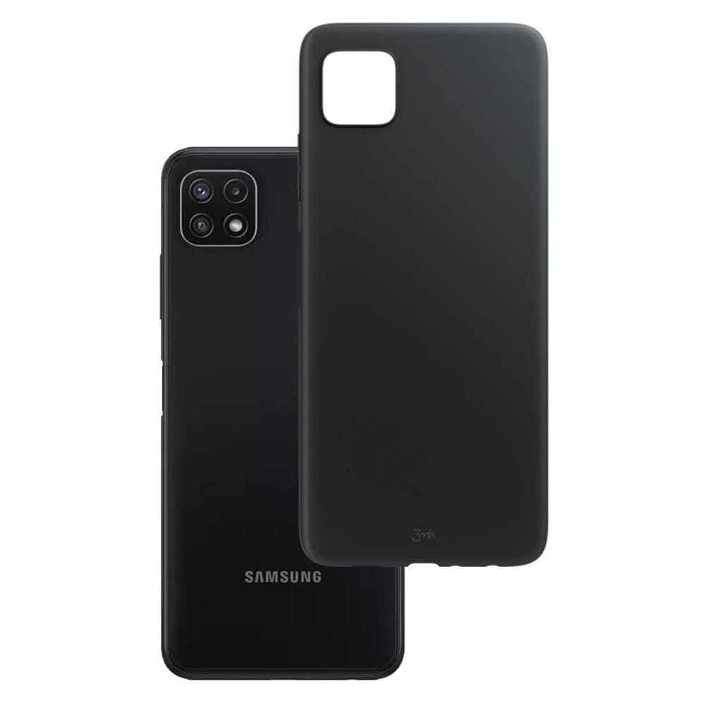 3MK Matt Case, Samsung, For Galaxy A22 4G, Black