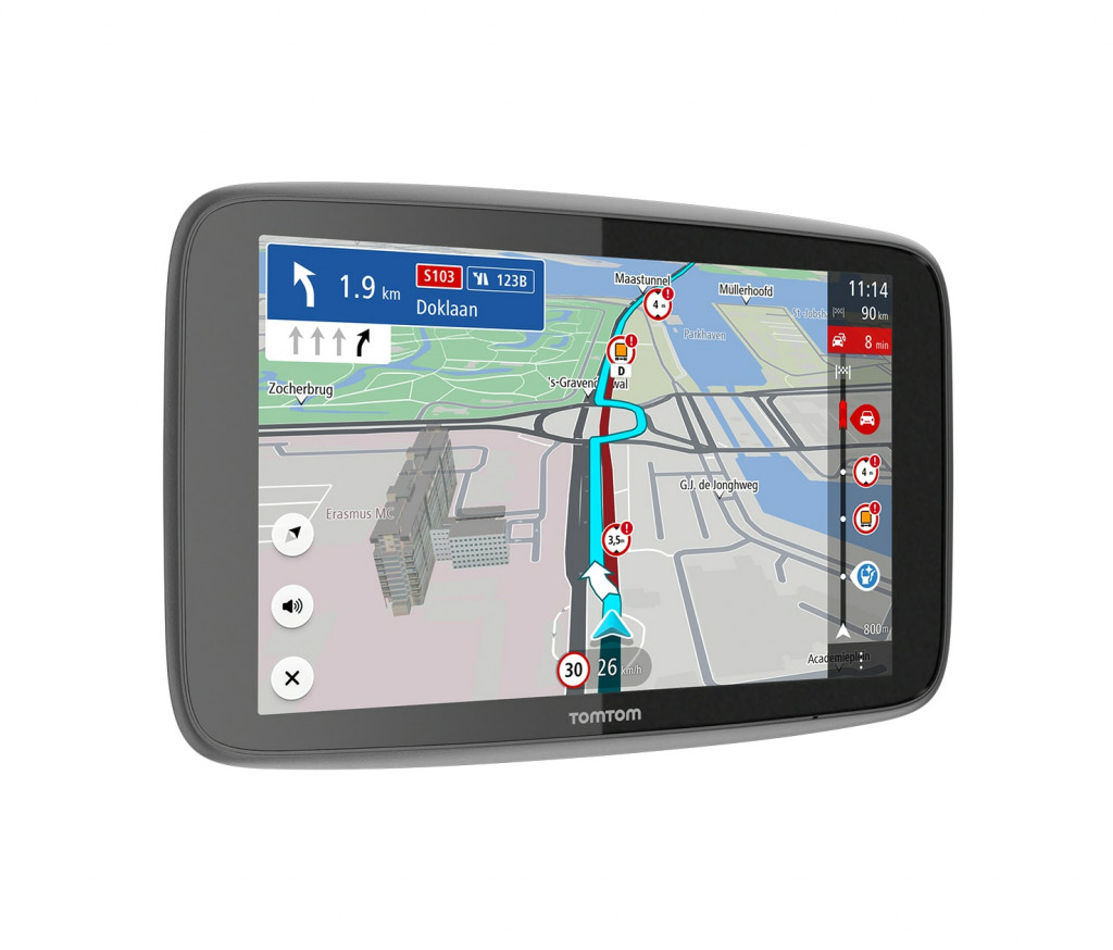 "TomTom GO Expert EU 7 navigaator Fikseeritud 17,8 cm (7"") Puutetundlik ekraan Must"