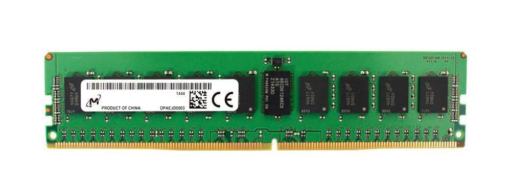 Server Memory Module|MICRON|DDR4|16GB|RDIMM/ECC|3200 MHz|CL 22|1.2 V|Chip Organization 2048Mx72|MTA18ASF2G72PDZ-3G2R1