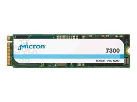 SSD MICRON SSD series 7300 Pro 480GB PCIE NVMe NAND flash technology TLC Write speed 425 MBytes/sec Read speed 1300 MBytes/sec Form Factor M.2 TBW 1100 TB MTBF 2000000 hours MTFDHBA480TDF-1AW12ABYY
