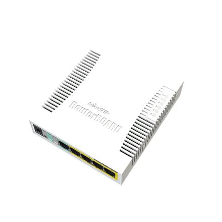 MikroTik Cloud Router RB260GSP Switch RB260GSP 1000 Mbit/s, Ethernet LAN (RJ-45) ports 5, Desktop