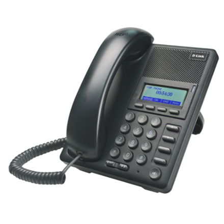 D-LINK DPH-120SE, VoIP Phone with PoE support, Support Call Control Protocol SIP, P2P connections, 2- 10/100BASE-TX Fast Ethernet, Acoustic echo cancellation(G.167), QoS IEEE 802.1Q & IEEE 802.1p Compliant and DiffServ(DSCP), Full range VLAN ID Support, Class of Service Support by VLAN Tag, Adjustable speaker / ringer volume control, LCD display, C