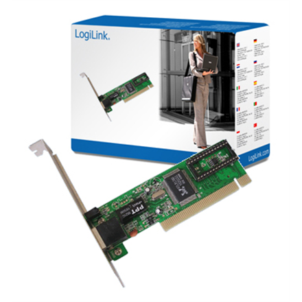 Logilink Fast Ethernet PCI network card PCI