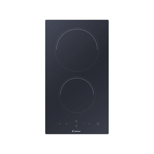 Candy Domino Ceramic Hob CID 30/G3 Induction, Number of burners/cooking zones 2, Touch control, Timer, Black