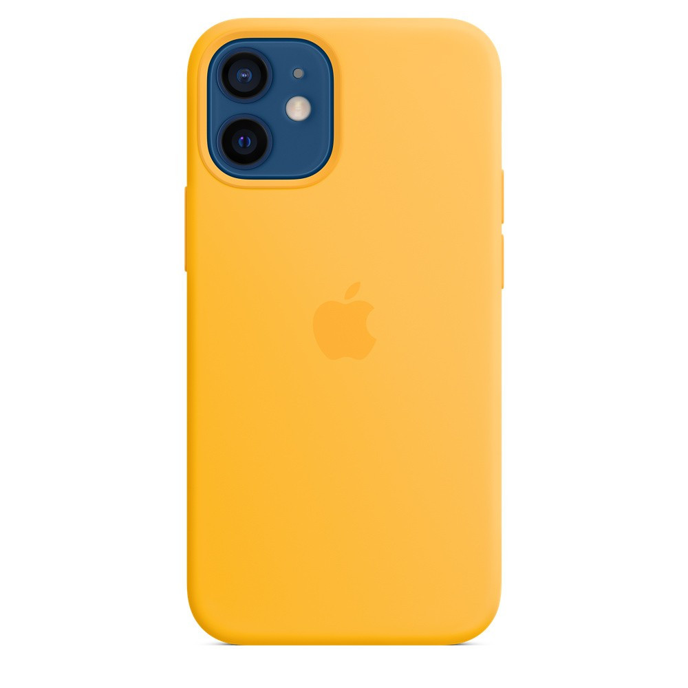 iPhone 12 mini Silicone Case with MagSafe - Sunflower