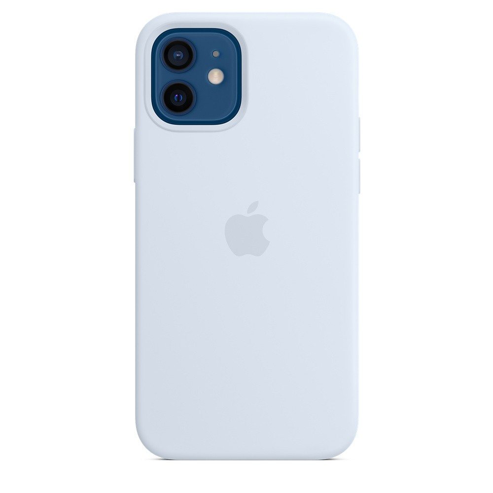 iPhone 12 | 12 Pro Silicone Case with MagSafe - Cloud Blue