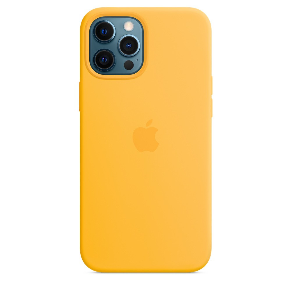 iPhone 12 Pro Max Silicone Case with MagSafe - Sunflower