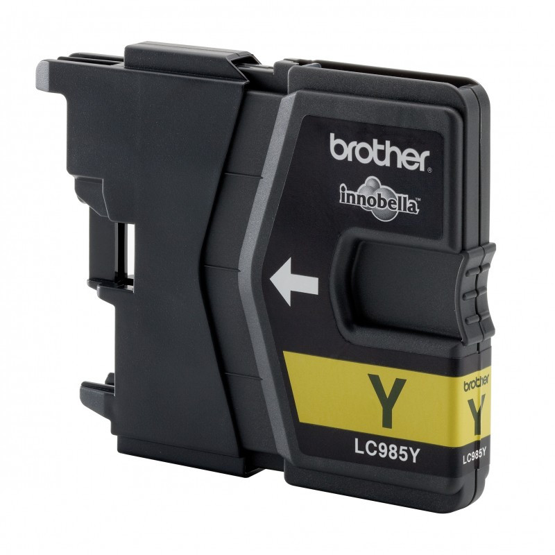 Print4you Cartridge for Inkjet Printers Brother LC985Y Yellow