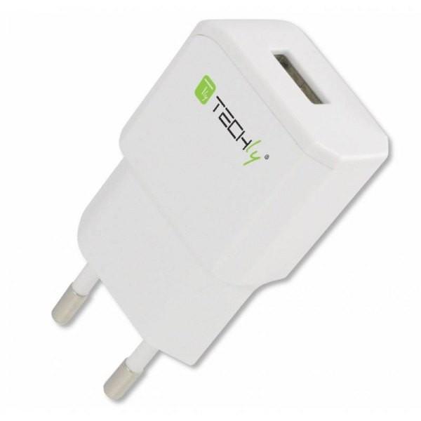 Network charger slim USB 5V 2.1A white