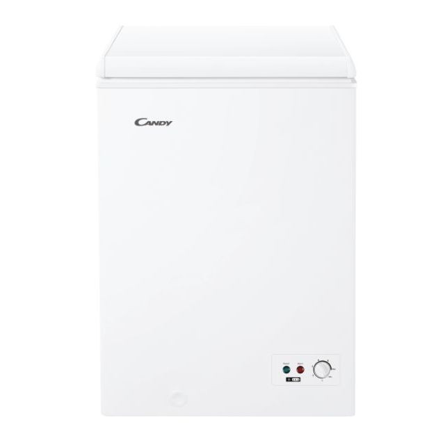 Candy Freezer CCHH 100 Energy efficiency class F, Chest, Free standing, Height 84.5 cm, Total net capacity 97 L, White