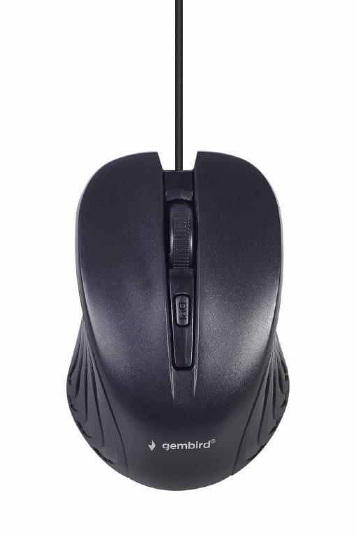 Gembird Multimedia desktop set KBS-UM-04 USB Keyboard, Wired, Mouse included, US, Black