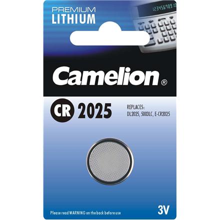 Camelion CR2025, Lithium, 1 pc(s)