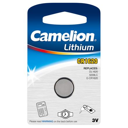 Camelion CR1620, Lithium, 1 pc(s)