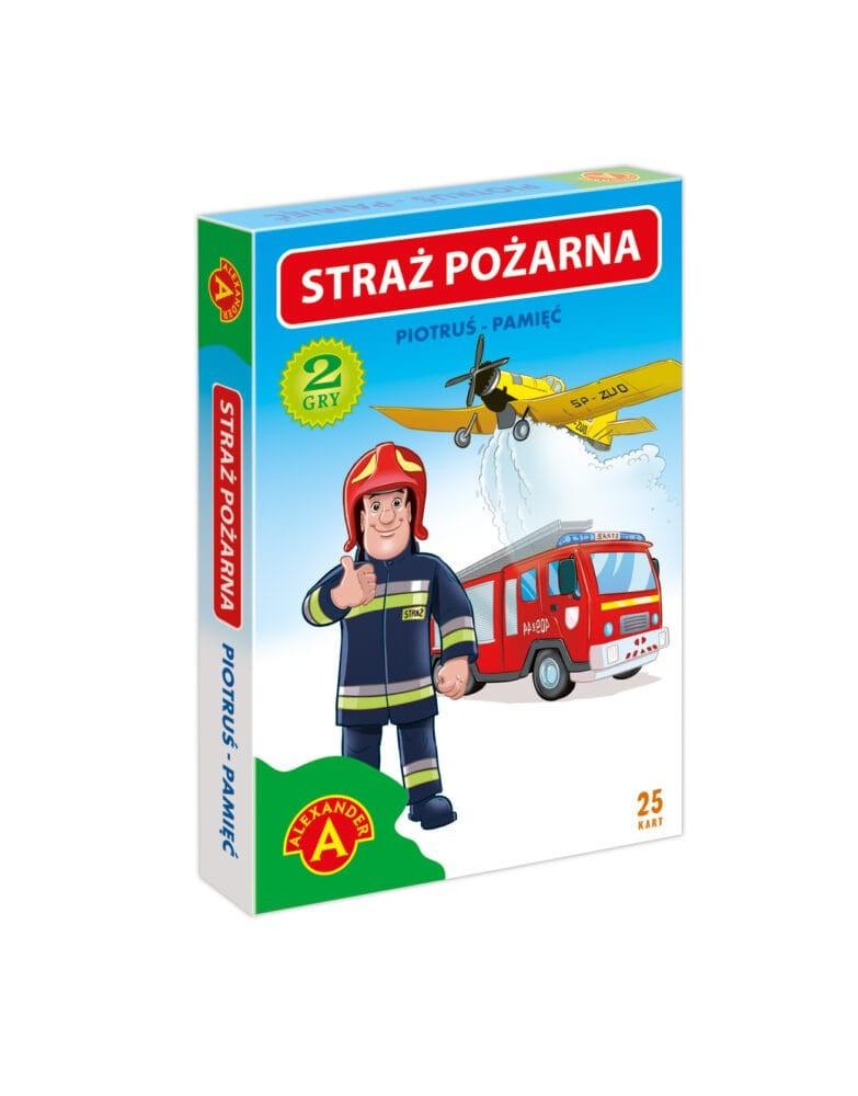 Cards Black Peter Memory - Fire brigade