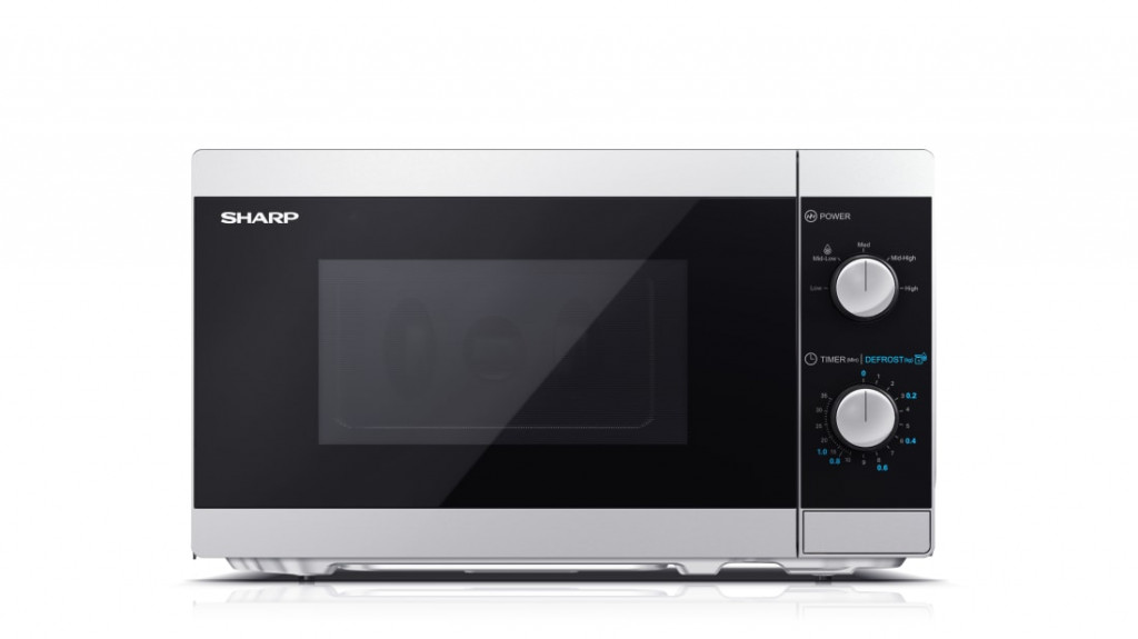 Sharp Microwave Oven  YC-MS01E-S Free standing, 20 L, 800 W, Silver