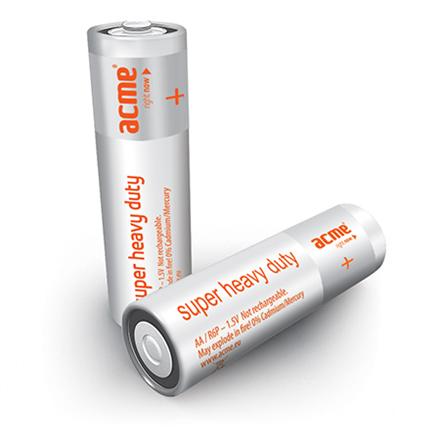 ACME R6 Super Heavy Duty Batteries AA/4pcs