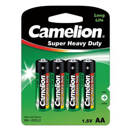 Camelion R6P-4BB AA/LR6, Super Heavy Duty, 4 pc(s)